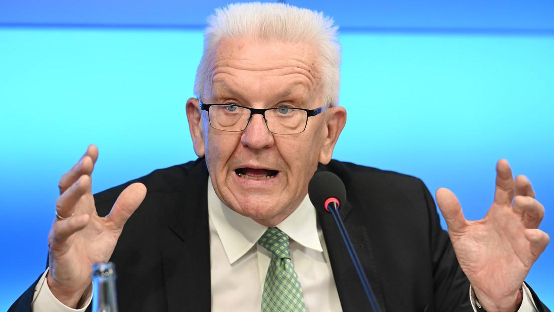 Grünen-Ministerpräsident Kretschmann: Eine Impfpflicht kann ich nicht ausschließen