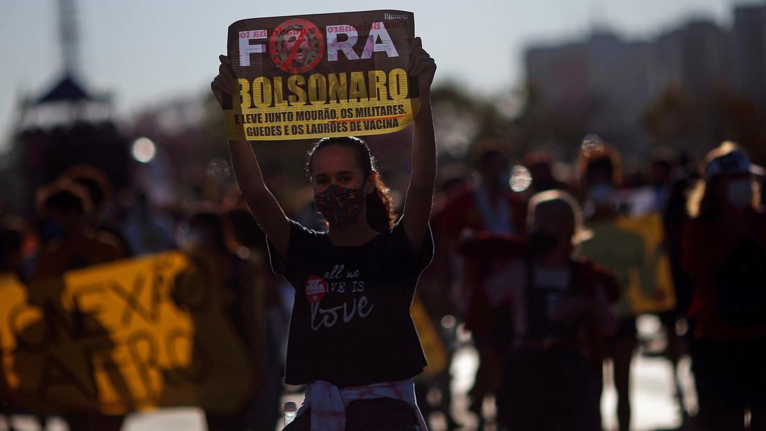 Tausende Brasilianer fordern Amtsenthebungsverfahren gegen Präsident Bolsonaro
