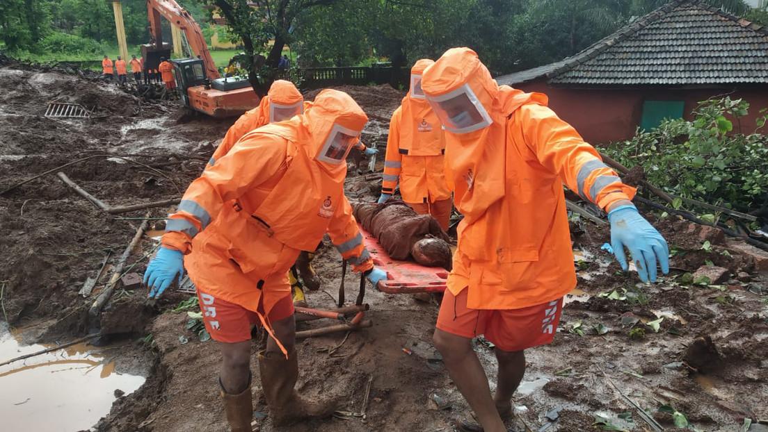 Mindestens 135 Tote nach Monsunregen in Indien – auch Philippinen betroffen