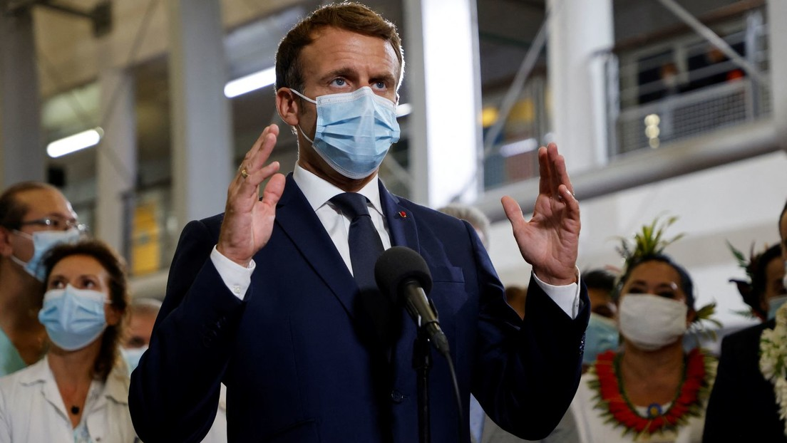 """""""Das ist keine Freiheit"""": Macron verurteilt """"Verantwortungslosigkeit und Egoismus"""" von Impfgegnern"""