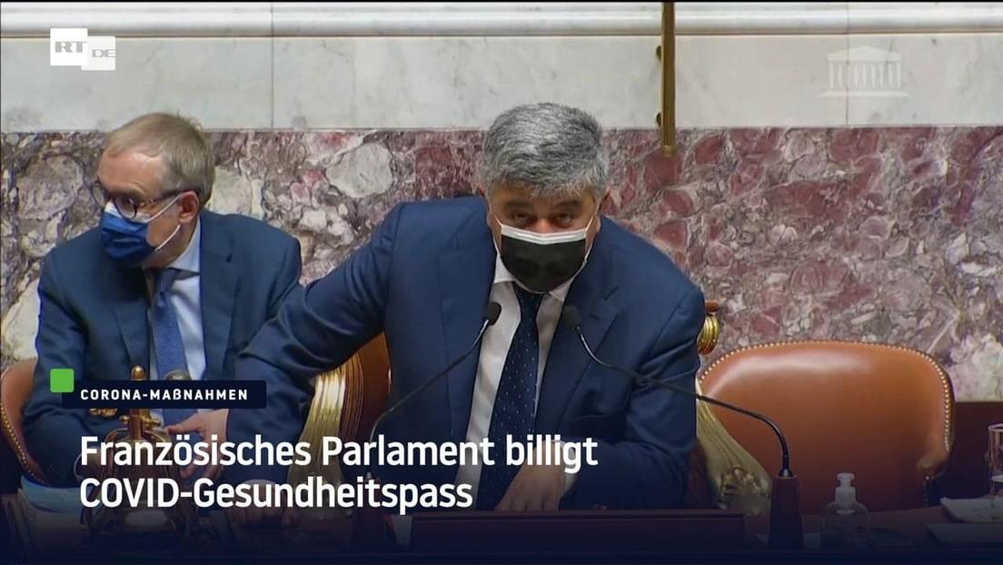 Französisches Parlament billigt COVID-Gesundheitspass
