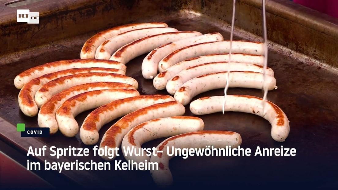 Auf Spritze folgt Wurst – Ungewöhnliche Anreize im bayerischen Kelheim