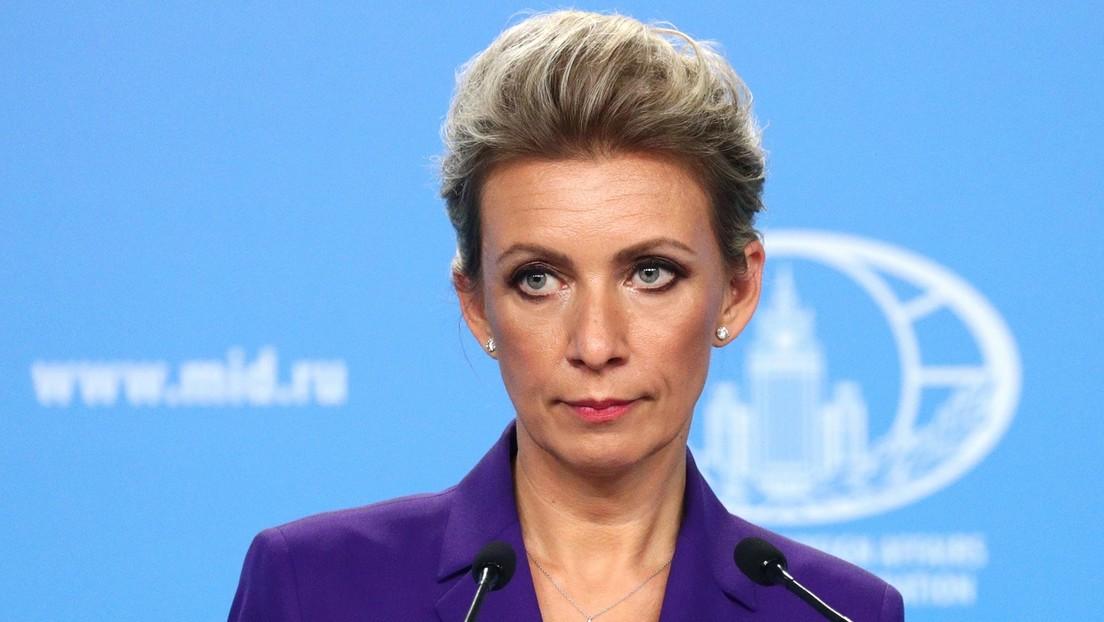 Sacharowa: USA sollten erstmal  hinter sich aufräumen, statt angebliche Bedrohungen zu suchen