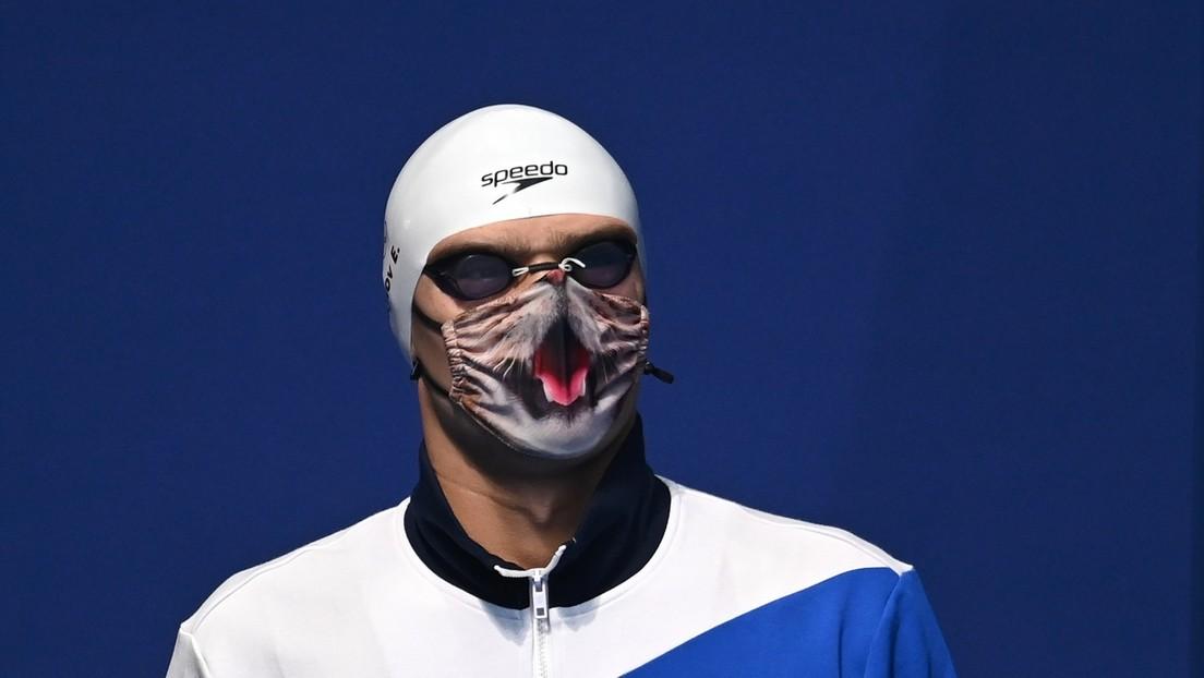 """""""Zum Heulen"""": Russischer Olympiasieger durfte bei Siegerehrung keine Katzenmaske tragen"""