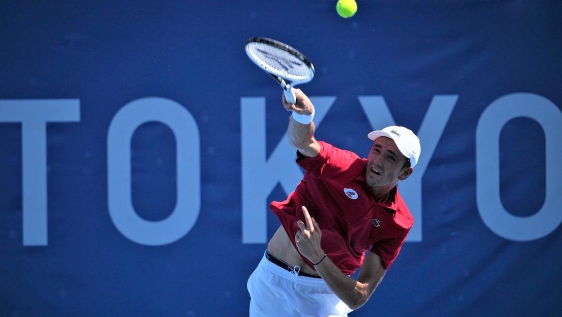 """""""Sie sollten sich schämen!"""" – Russischer Tennisstar weist bei Olympia provokante Frage zurück"""
