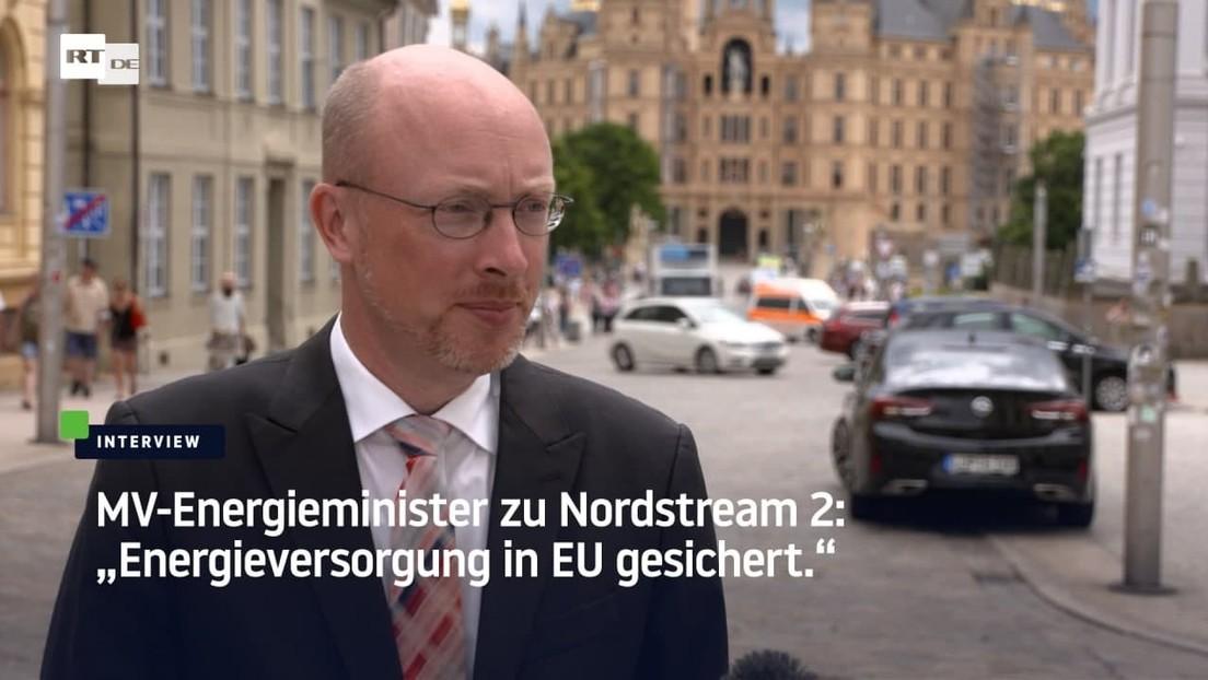 """Souveränität in der Produktion"" - MV-Minister will nach Nord Stream 2 EU-Halbleiterprojekt"