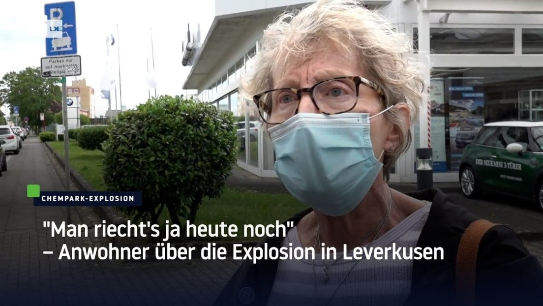 """""""Man riecht's ja heute noch"""" – Anwohner über die Folgen der Explosion in Leverkusen"""