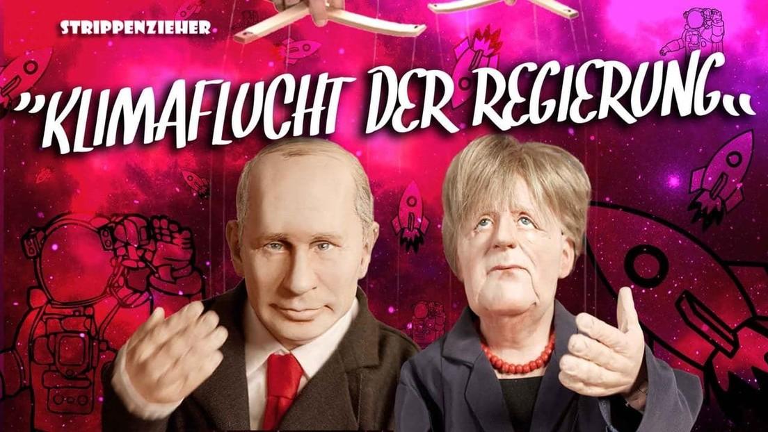 Klimaflucht der Regierung | Merkel schießt sich zum Mond | Strippenzieher