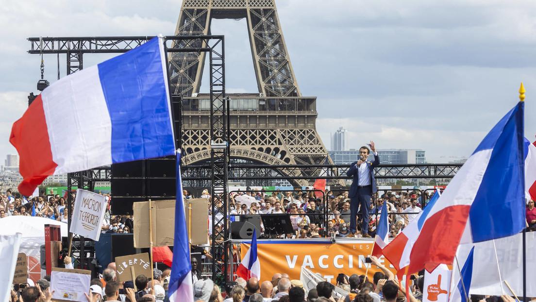 Streik gegen Impfpflicht in Frankreich weitet sich aus: Größte Gewerkschaft ruft zu Protesten auf