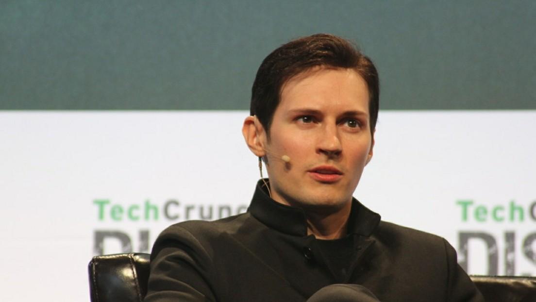 Telegram-Gründer Durow kritisiert Facebook und Twitter für Zensur von Fake News zu Corona