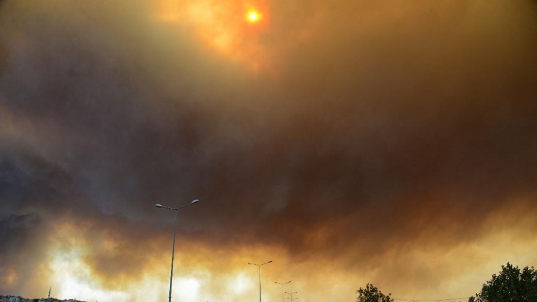 LIVE: Türkei – Waldbrände in Urlaubsregion Marmaris