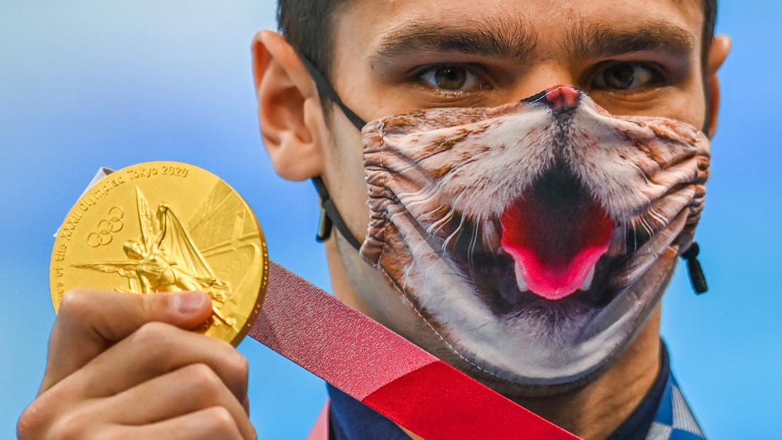 """""""Russen sollten nicht teilnehmen"""" – Fragwürdige Aussagen nach Gold von Schwimmer Rylow"""