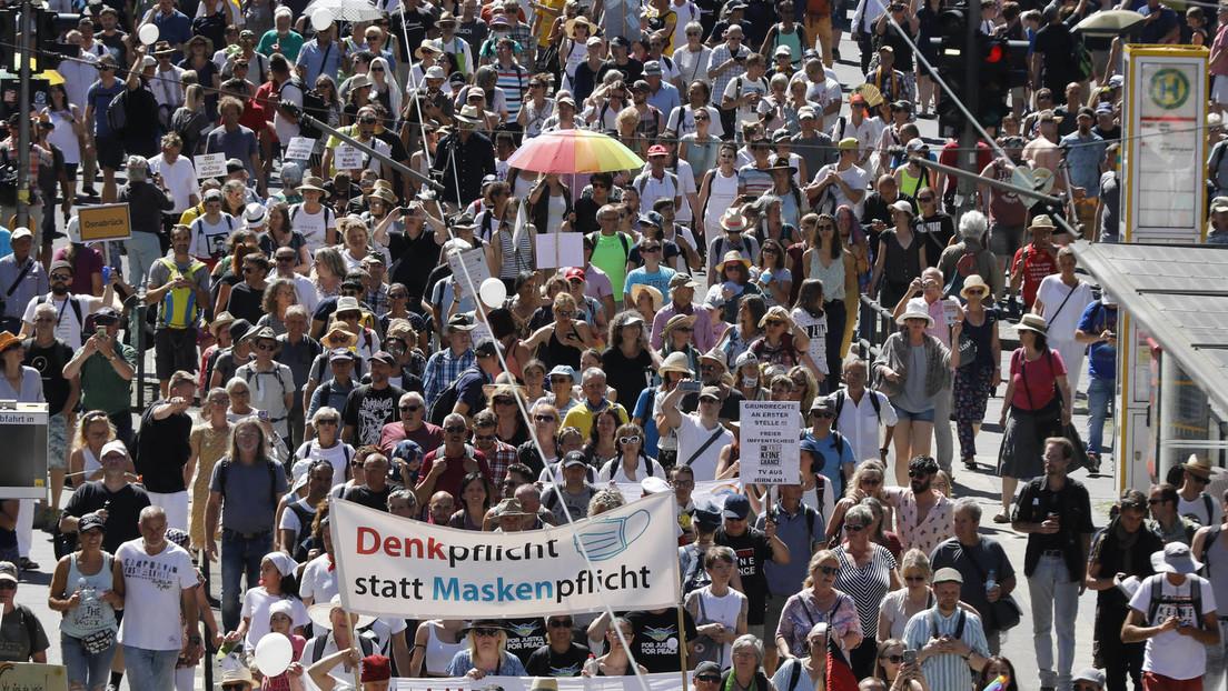 Verbot der Querdenker-Demos in Berlin – Polizei sieht keine Vergleichbarkeit zum CSD