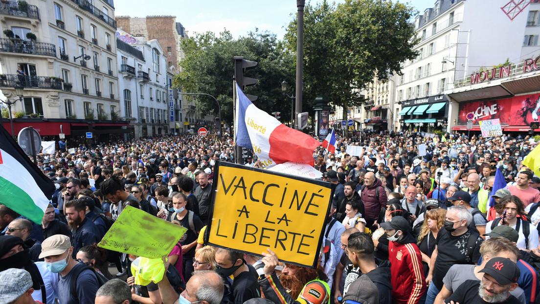 Gesundheitspass: Zehntausende Franzosen protestieren weiter gegen Corona-Maßnahmen