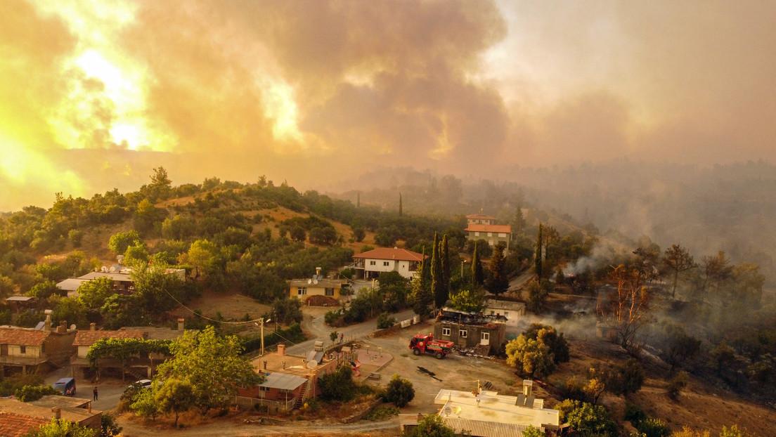 Feuerkatastrophe in der Türkei: Festnahme wegen Verdachts der Brandstiftung