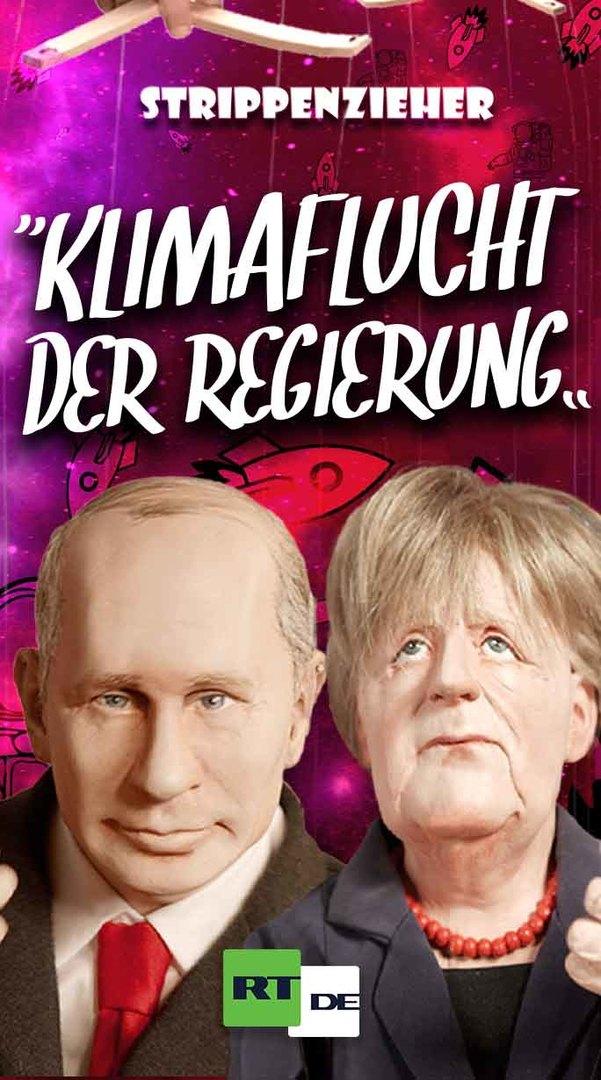 Klimaflucht der Regierung | Merkel schießt sich zum Mond