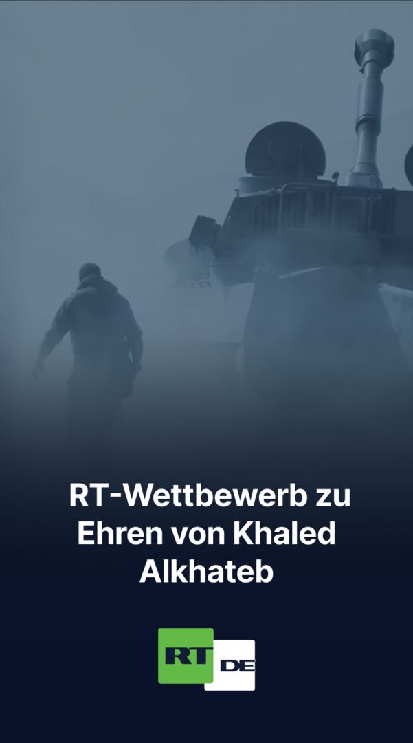 RT eröffnet Ausschreibung des diesjährigen Journalismus-Wettbewerbs zu Ehren von Khaled Alkhateb