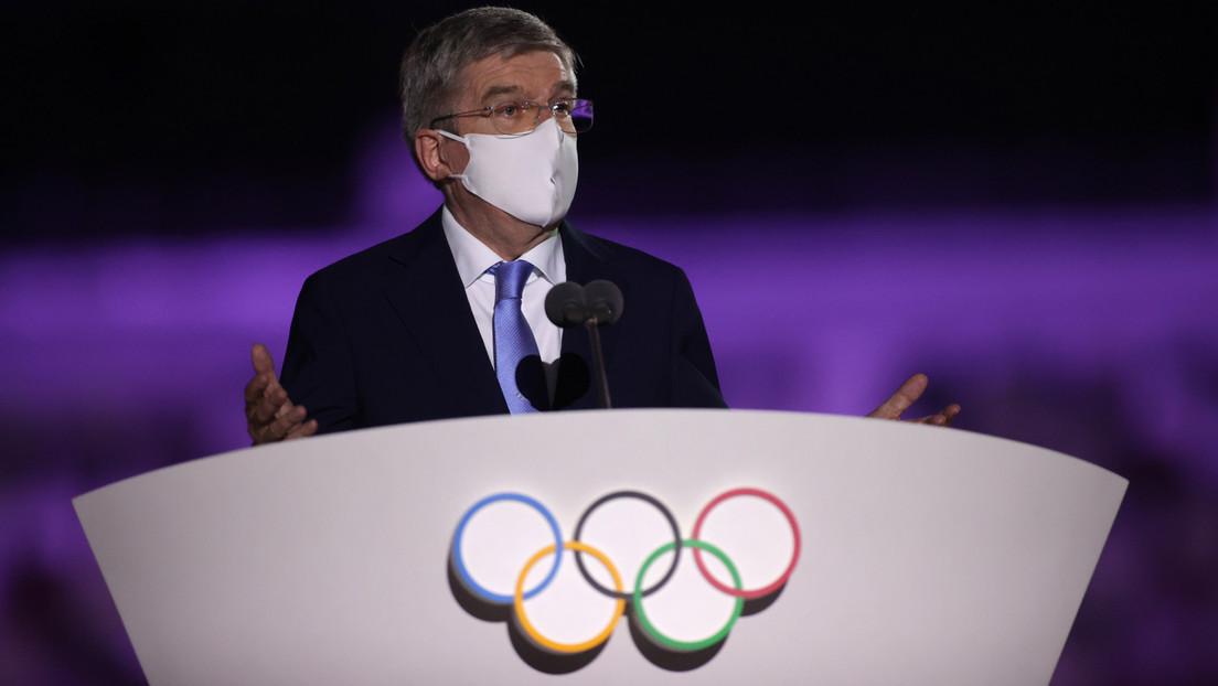 IOC-Chef Bach: Russische Athleten haben das gleiche Recht wie andere auf Olympia-Teilnahme