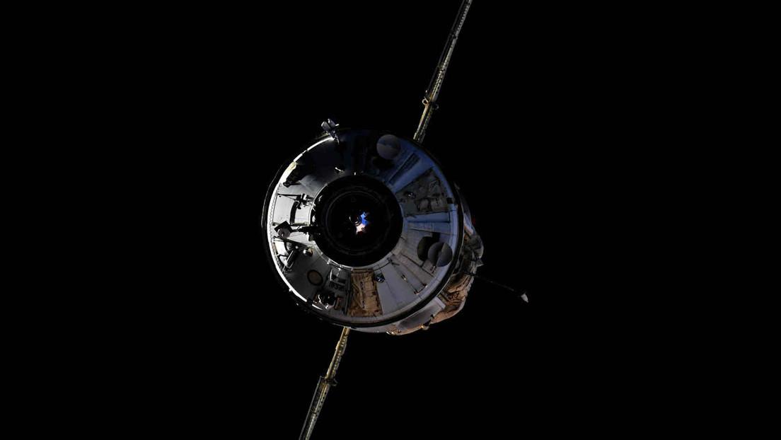 "Kosmonaut Oleg Nowizki veröffentlicht erstes Video aus ISS-Modul ""Nauka"""