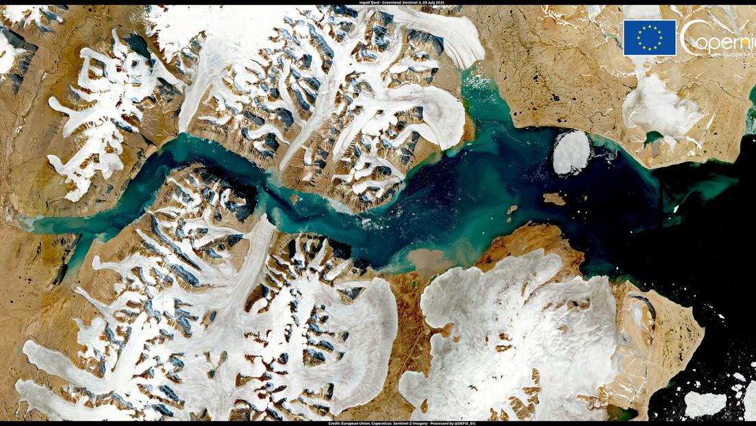 Grönlands Eis taut in großen Mengen ab