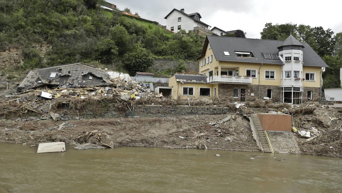 Umfrage zur Flutkatastrophe: 55 Prozent sehen Zusammenhang mit Klimawandel