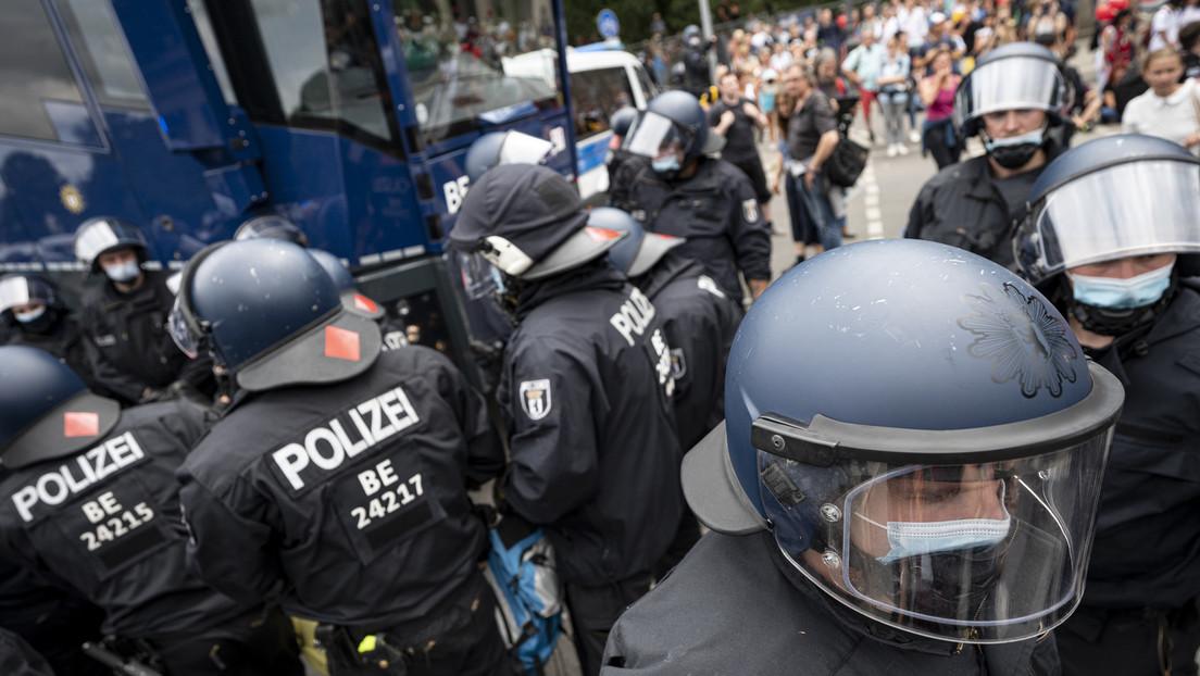 """Toter bei """"Querdenken""""-Demonstration in Berlin war Gründungsmitglied von Die Basis"""