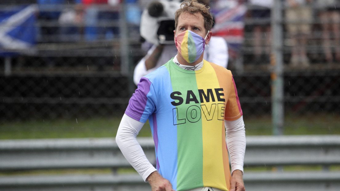 Wegen LGBT-Unterstützung: Ungarischer EU-Abgeordneter wettert gegen Vettel mit Nazi-Vergleich