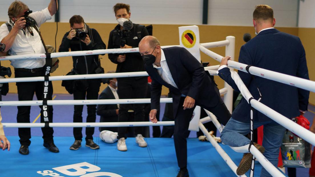 """Scholz als Umfragen-""""Überflieger""""? – Wie ein öder Wahlkampf künstlich aufgebauscht wird"""