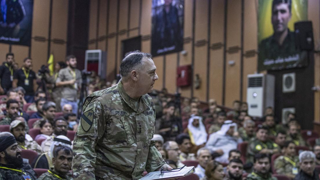 US-Besatzer in Nordsyrien sichern kurdischen Kräften Unterstützung zu