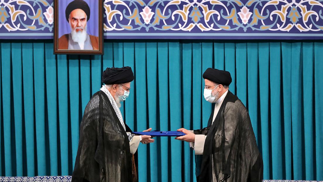 Amtseinführung: Präsident Raisi will Zukunft Irans nicht an Westen binden