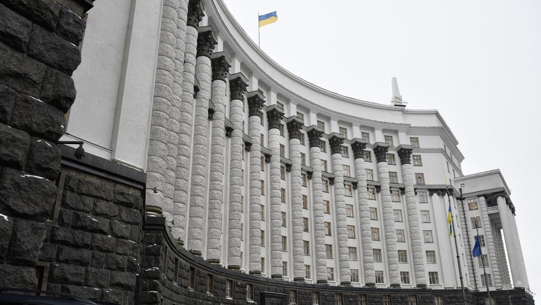 Kiew: Unbekannter drohte, Granate im ukrainischen Regierungsgebäude zu zünden