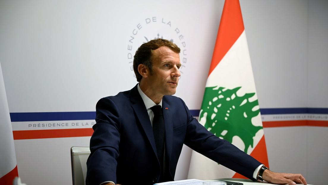 Macron kritisiert am Jahrestag der Beirut-Explosion moralisches Versagen libanesischer Politiker