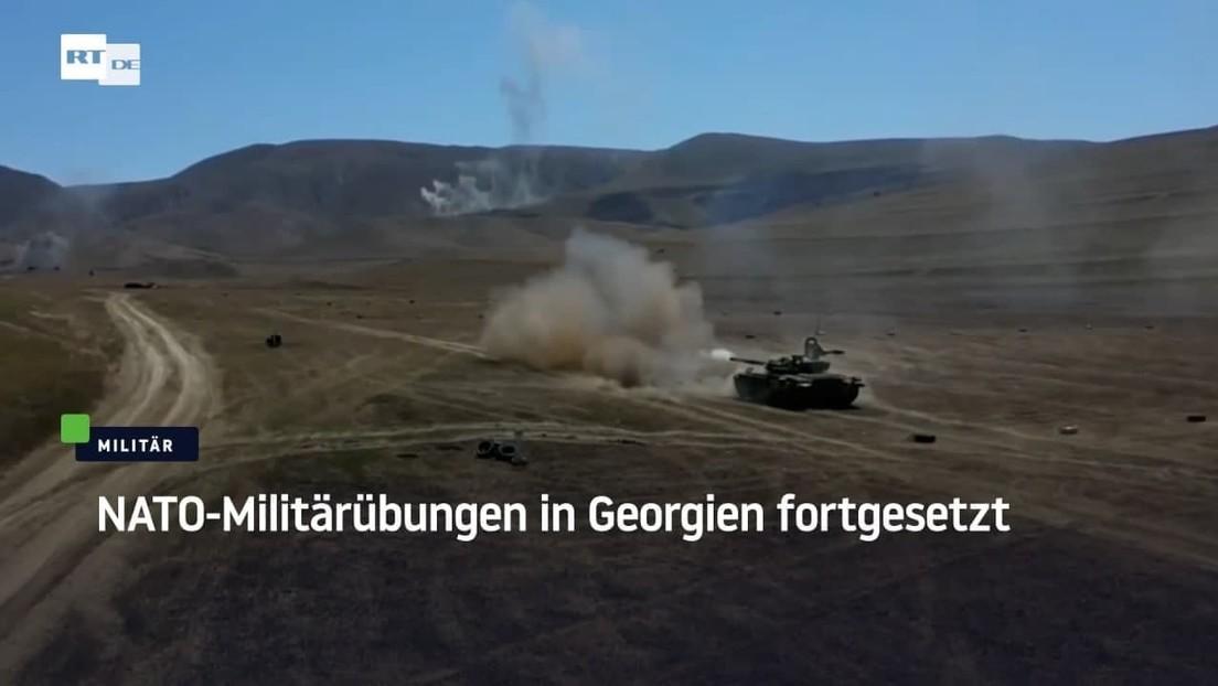 NATO-Manöver in Georgien fortgesetzt