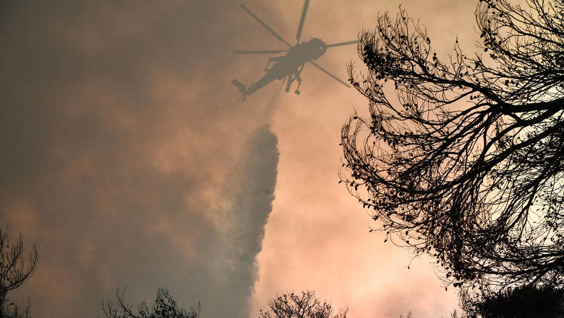 Waldbrände in Griechenland eskalieren – zweites russisches Löschflugzeug angefordert