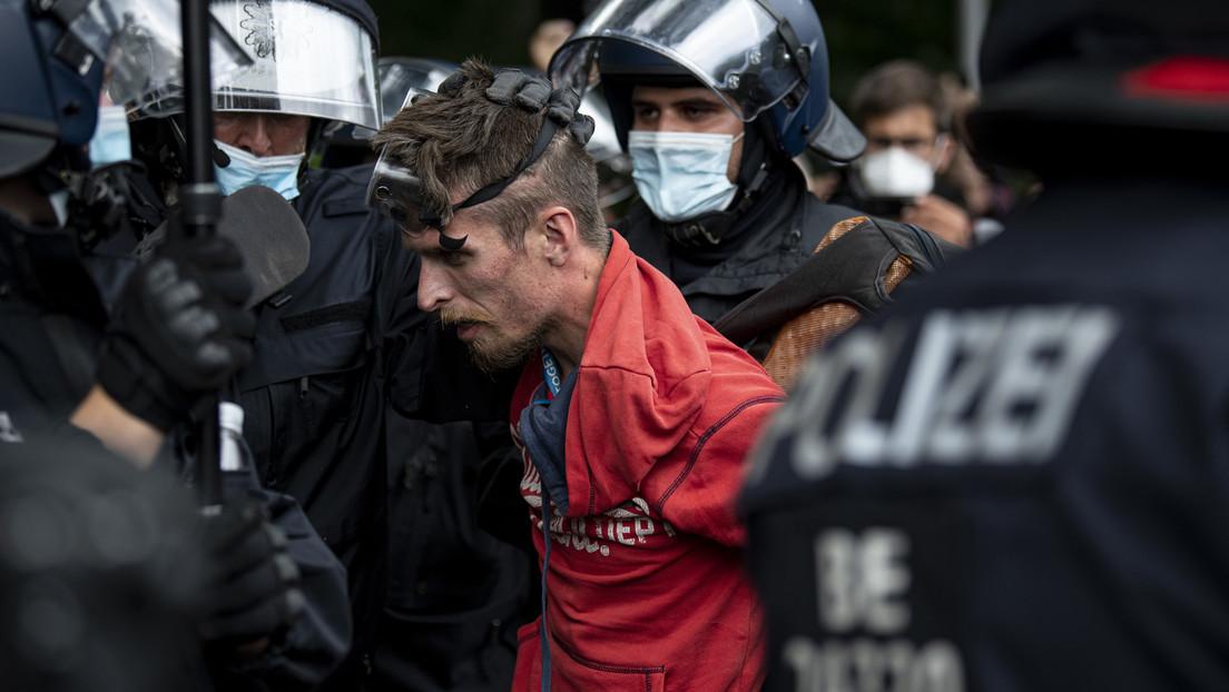 """Nach Polizeigewalt in Berlin: """"Querdenker"""" schicken geleakten Einsatzbefehl an UN-Sonderbeauftragten"""