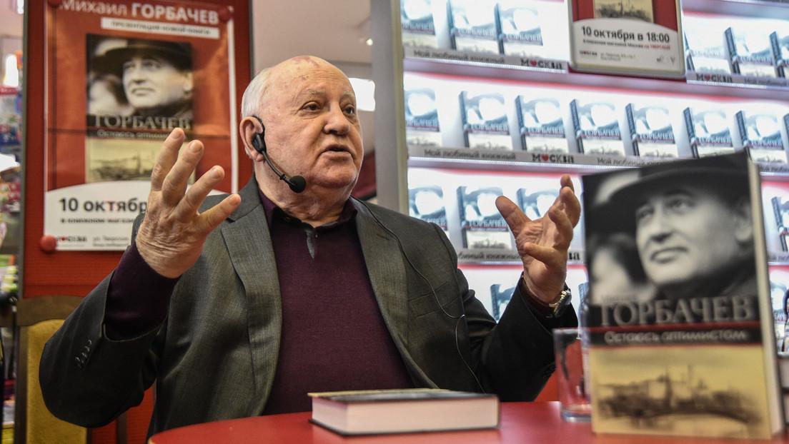 """Michail Gorbatschow: """"Solange es Atomwaffen gibt, besteht die Gefahr eines Atomkriegs"""""""