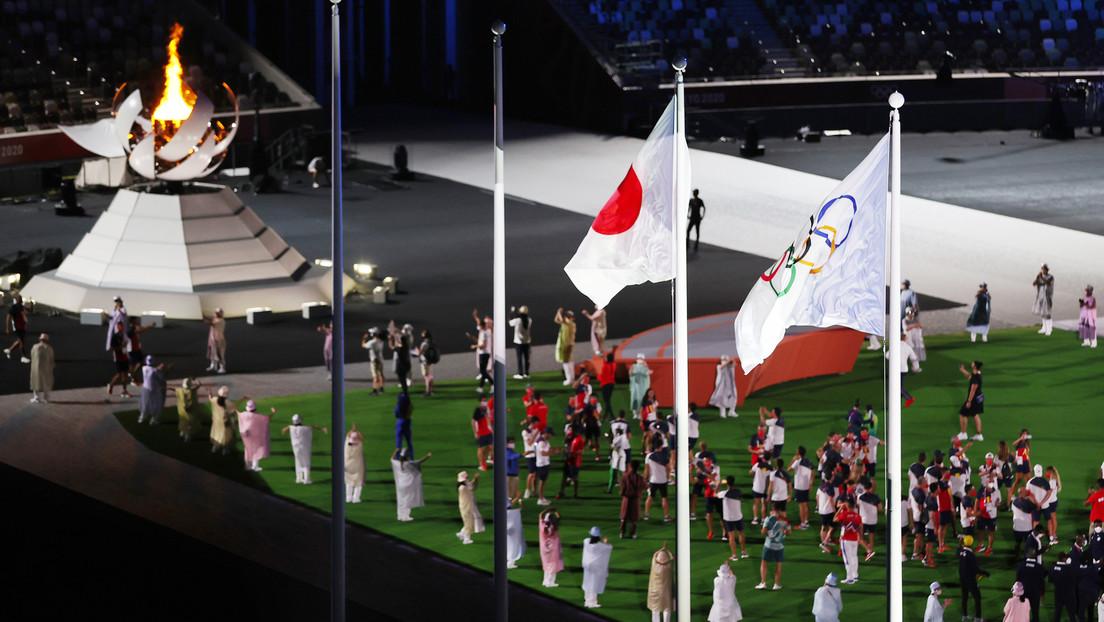 Olympische Spiele von Tokio sind beendet – Abschiedszeremonie fast ohne Zuschauer
