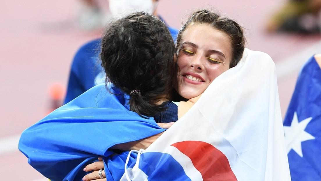 Umarmung mit Russin: Ukrainische Olympionikin muss zum Rapport