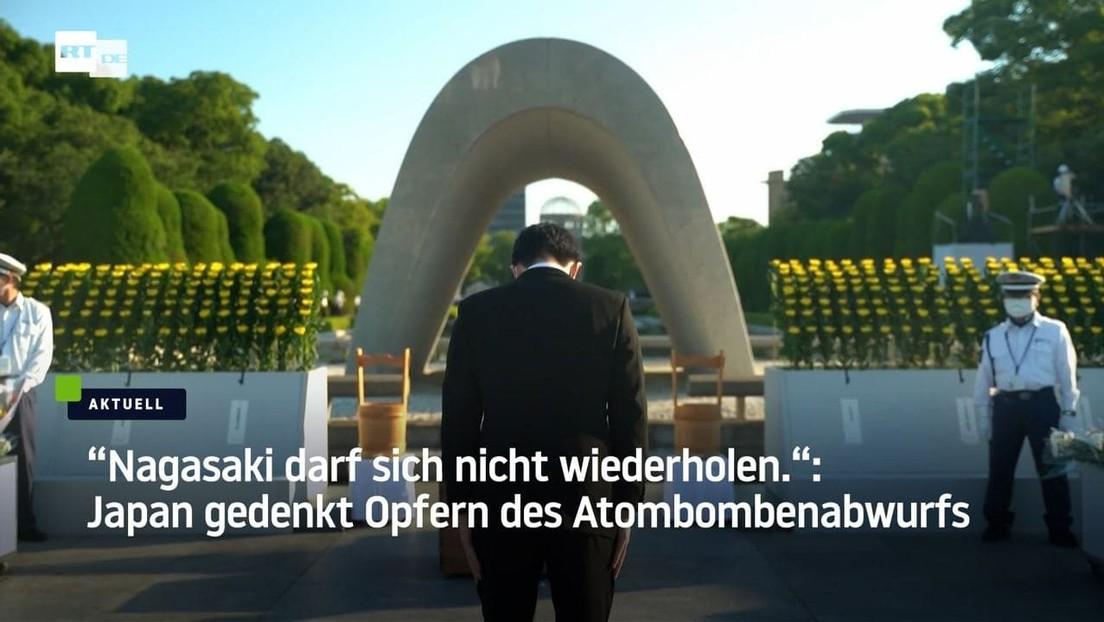 Stilles Gedenken in Nagasaki: Jahrestag des Atombombenabwurfs jährt sich zum 76. Mal