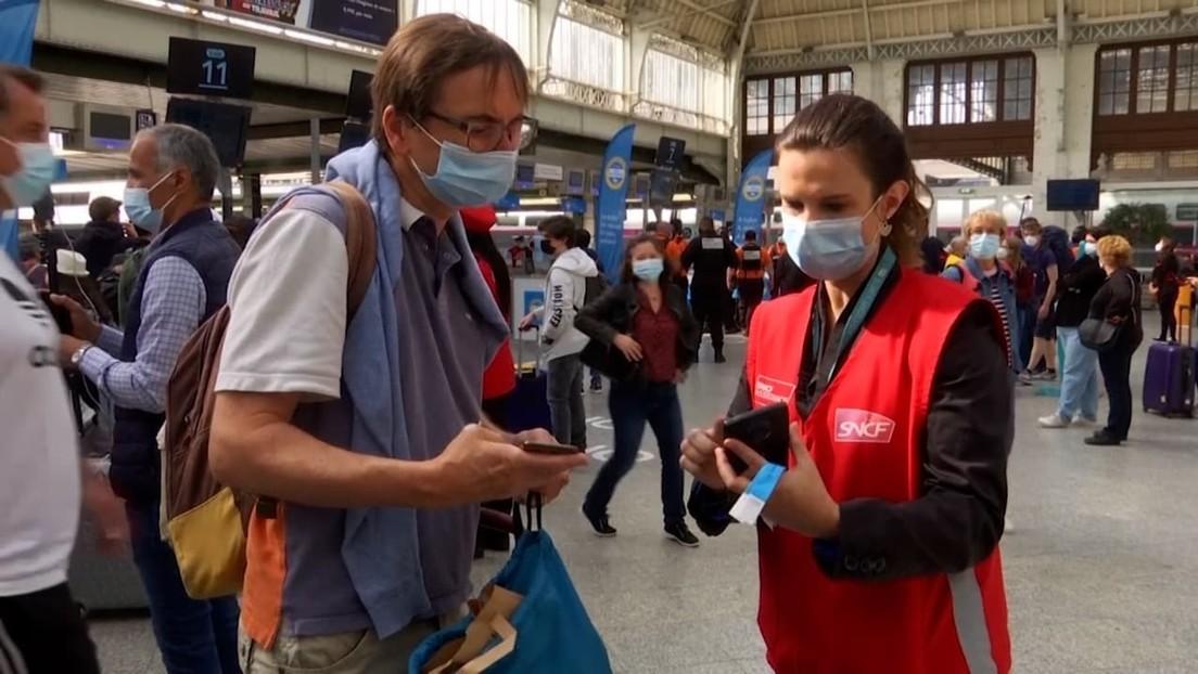 Frankreich: Gesundheitspass nun auch im Fernverkehr