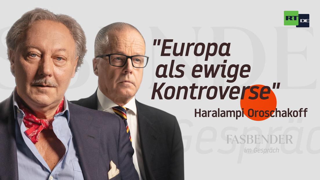 """Fasbender im Gespräch – mit Haralampi Oroschakoff: """"Europa als ewige Kontroverse"""""""