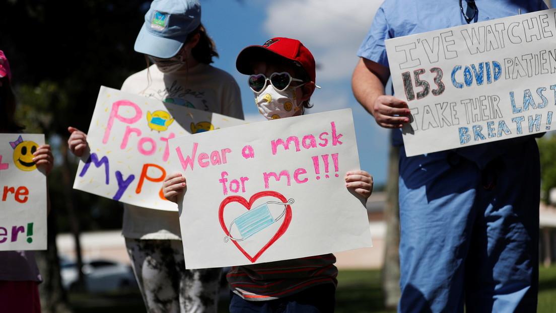 """""""Kinder ohne Masken begehen Mord"""" – Forderung nach Maskenpflicht in Schulen von Oklahoma"""
