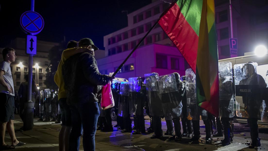 Proteste gegen Corona-Politik in Litauen – Tausende fordern Rücktritt der Regierung