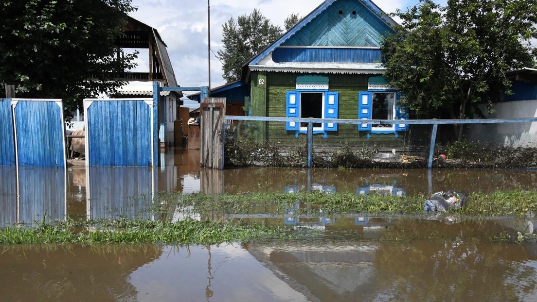Ferner Osten Russlands: Mehr als 24.000 Menschen von Überschwemmungen betroffen