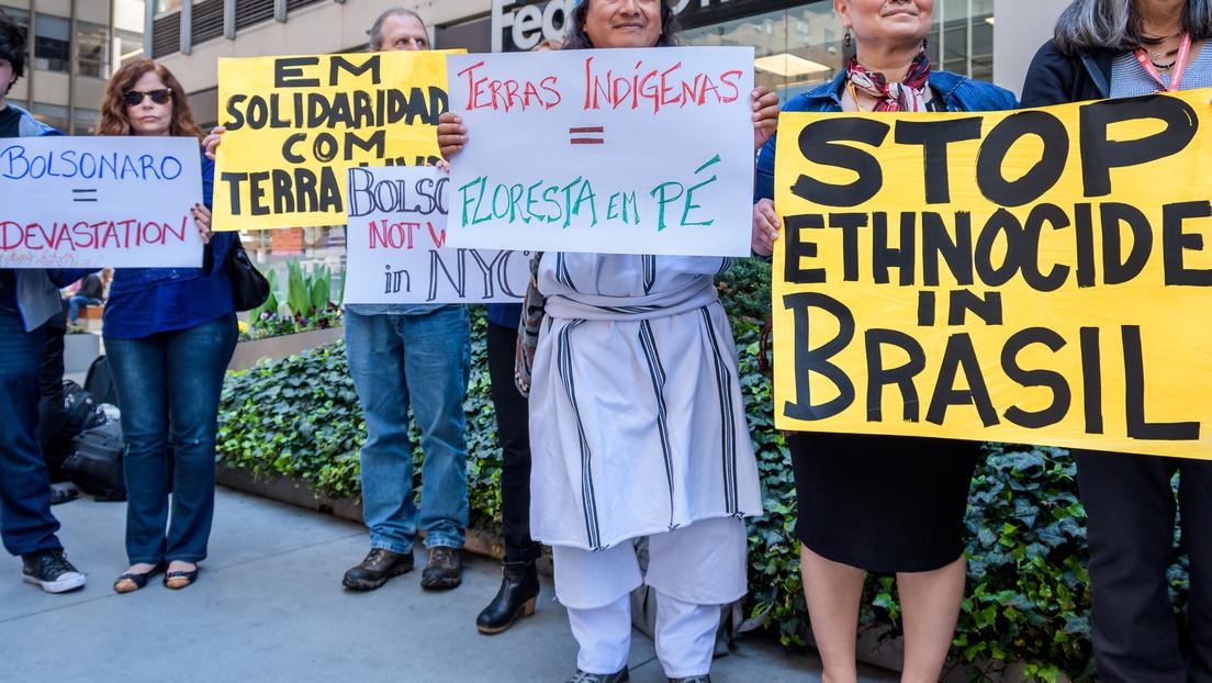 Völkermord – Indigene Brasiliens verklagen Bolsonaro vor Internationalem Strafgerichtshof