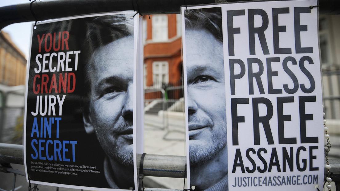 London: Früherer Labour-Chef Jeremy Corbyn fordert mit Demonstranten Freiheit für Assange