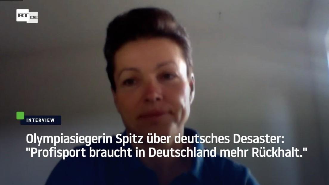 """Olympiasiegerin Spitz über deutsches Desaster: """"Profisport braucht in Deutschland mehr Rückhalt"""""""