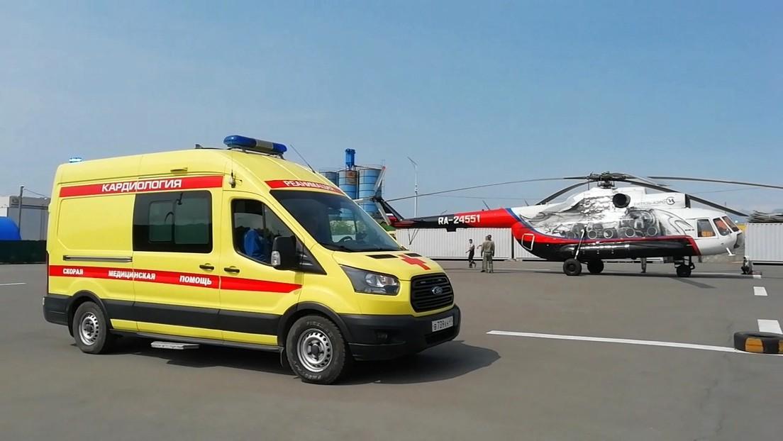 Russland: Hubschrauber mit Touristen stürzt auf Kamtschatka ab – acht Tote geborgen