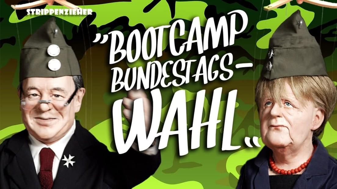 Bootcamp Bundestagswahl | Militärischer Drill für widerspenstige Politiker | Strippenzieher