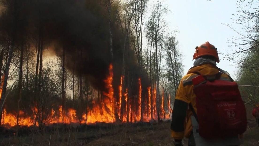 """""""Man kann kaum atmen!"""" – Bewohner Jakutiens leiden unter dem Rauch von den Waldbränden"""